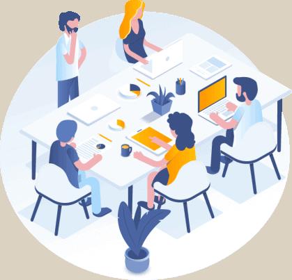 ישיבת צוות והשגת יעדים אסטרטגיים בקידום האתר