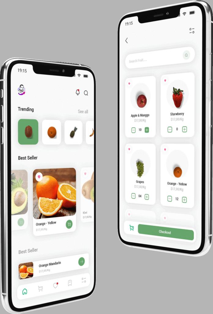 עיצוב ופיתוח אפליקציה בתחום המזון